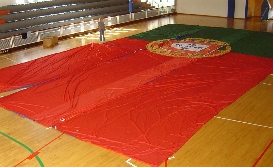 A maior bandeira de Portugal