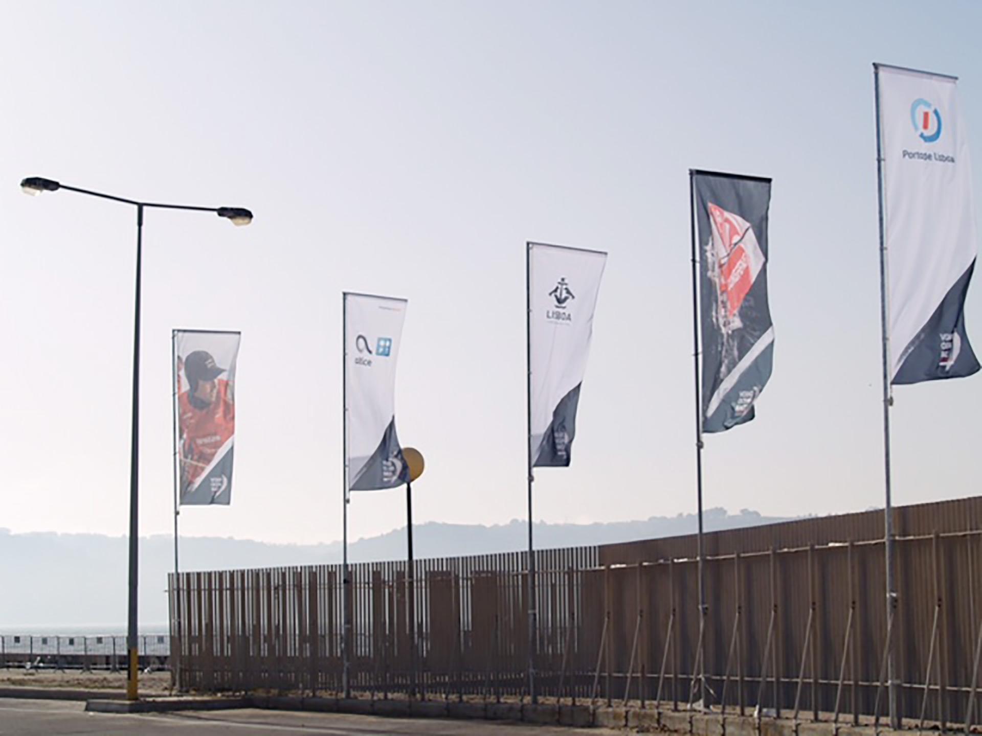 Bandeiras personalizadas