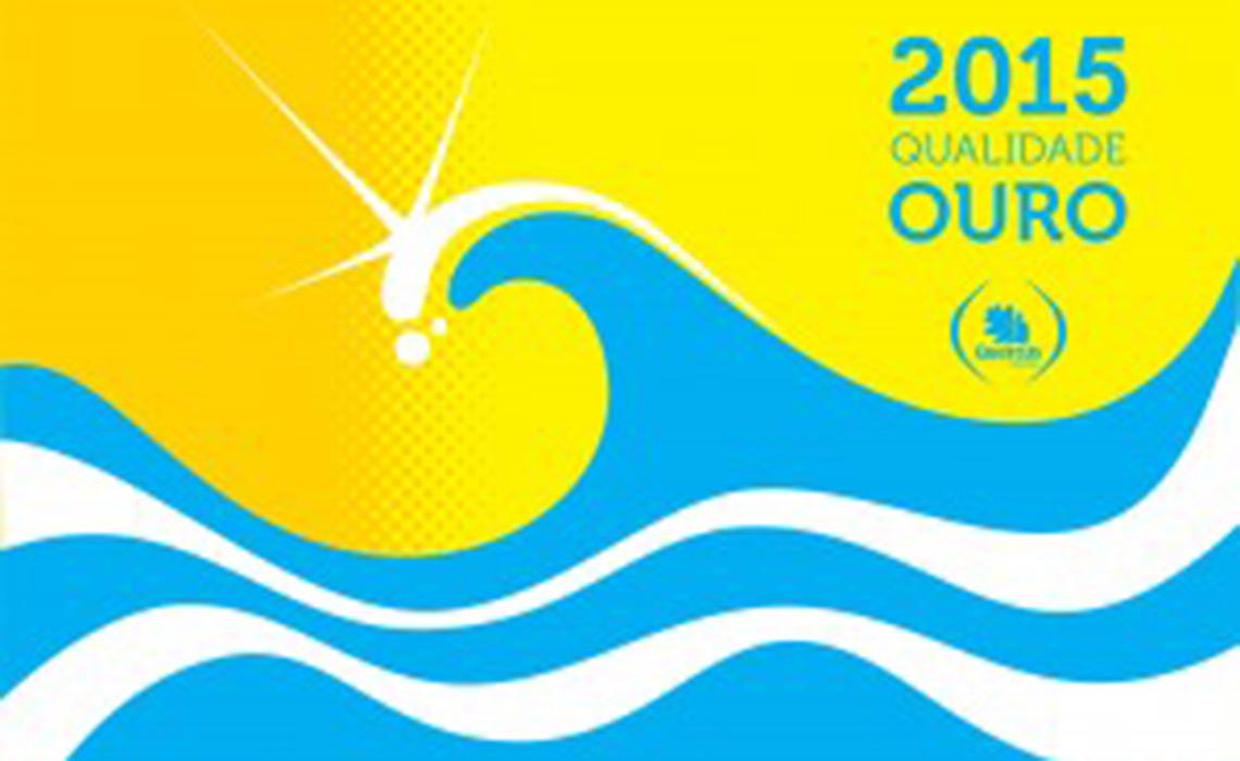 Bandeiras para praias com 'Qualidade de Ouro'