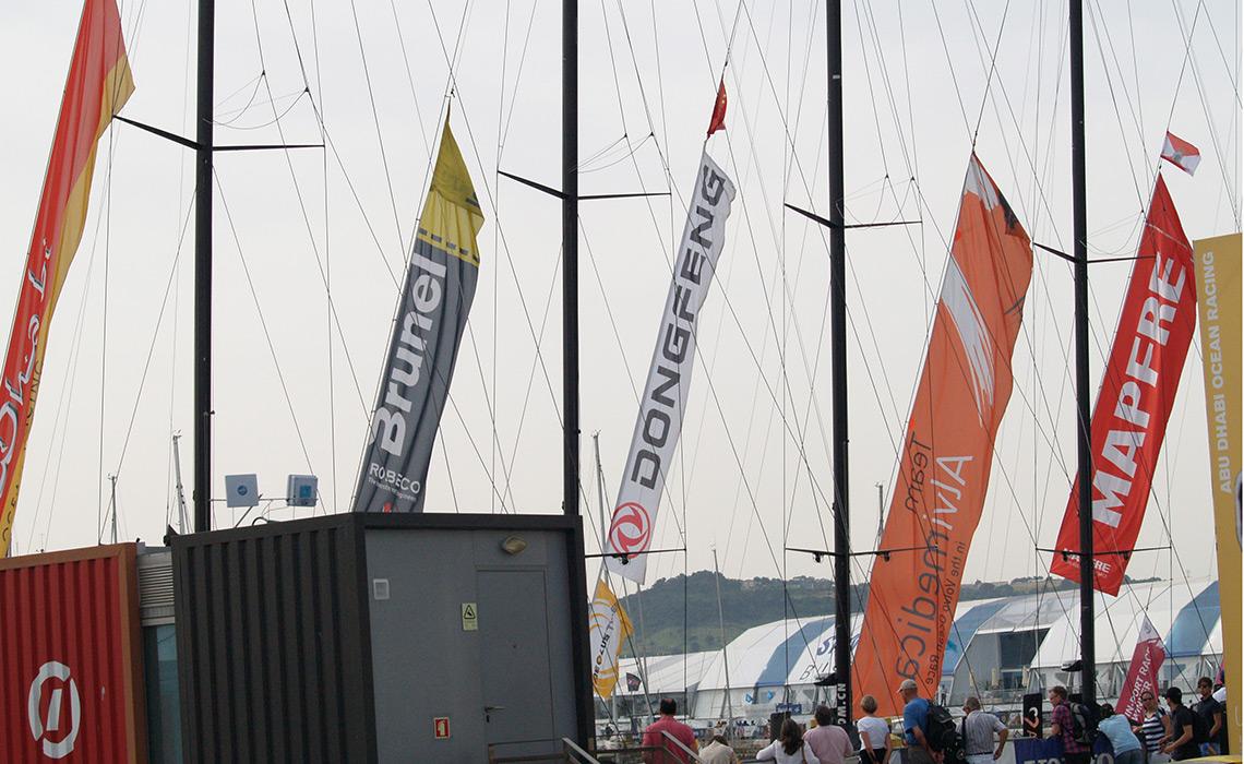 Bandeiras para eventos oficiais