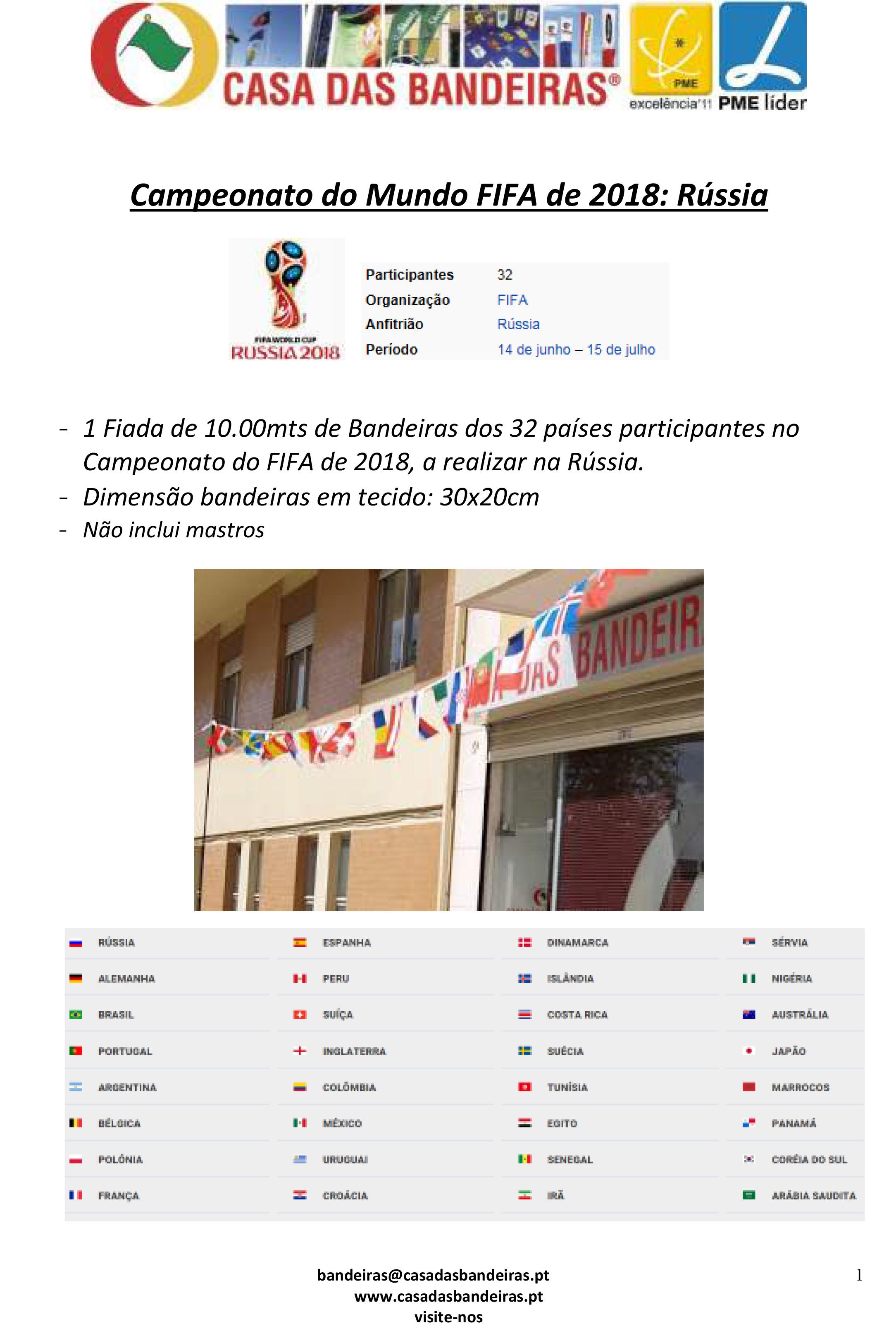 (Microsoft Word - Campeonato do Mundo FIFA 2018, R372ssia.doc)